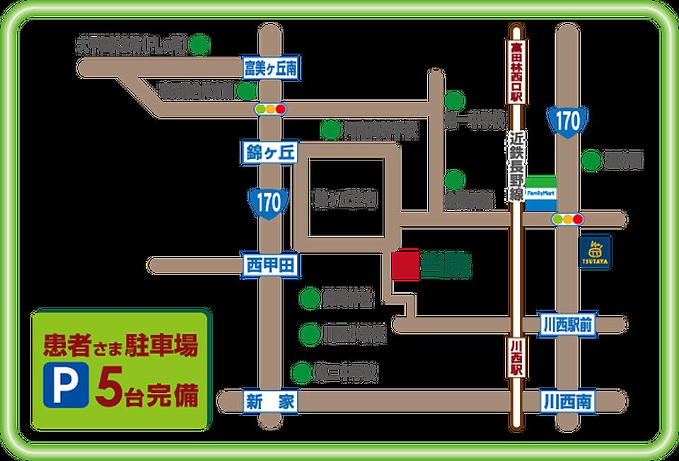 地図(イラスト)